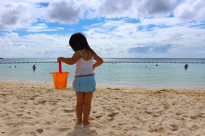 トロピカルビーチは小さなお子様でも楽しめるビーチ