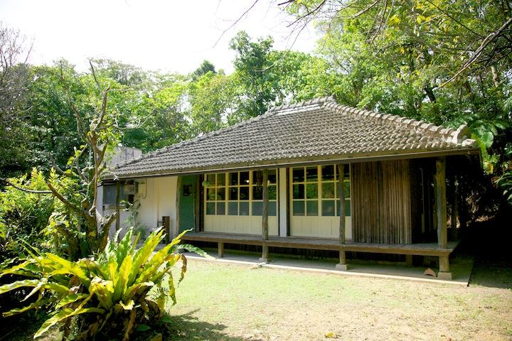 ハコニワは本部町の古民家カフェ。沖縄の隠れ家的なカフェです