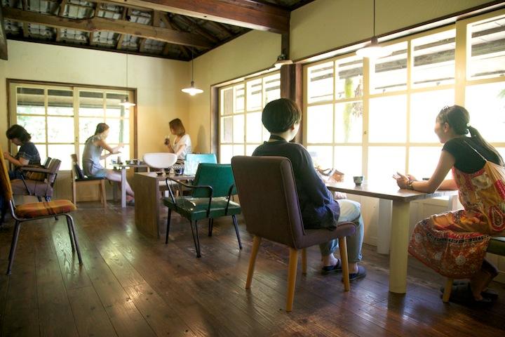 和モダンな雰囲気の古民家カフェ「ハコニワ」