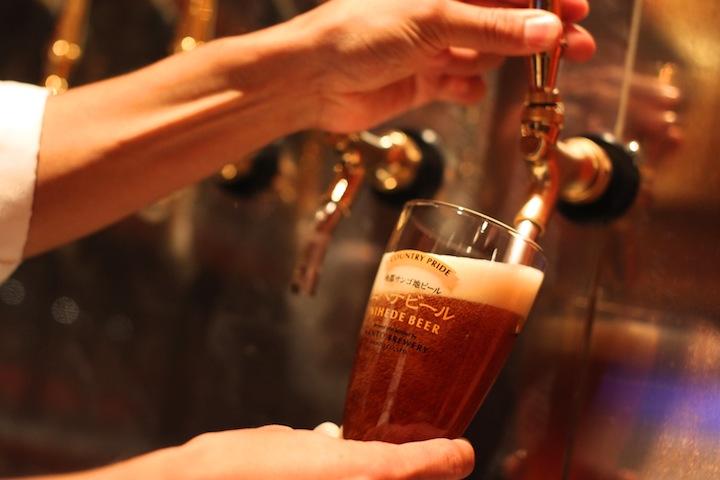 11種類のクラフトビールが味わえます