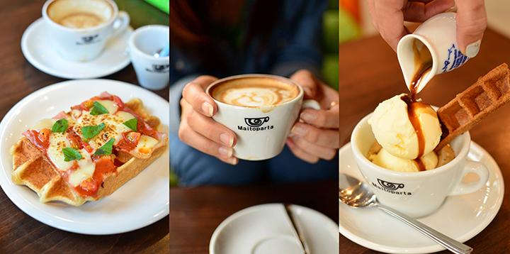デザートもおいしいカフェ