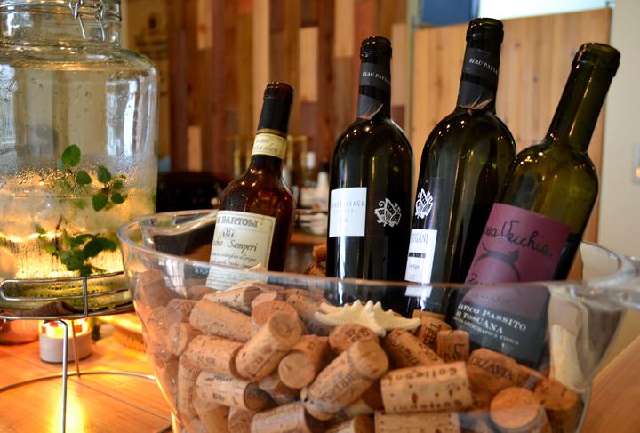 島の恵みをたっぷり含んだお料理と自然派ワイン