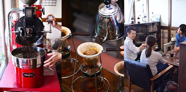 世界のこだわりある珈琲と沖縄産の珈琲を楽しめるPurecastle珈琲