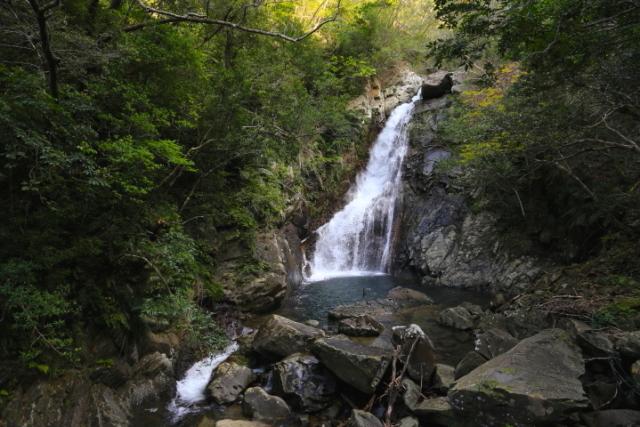 家族でトレッキングに挑戦!『比地大滝キャンプ場』の過ごし方