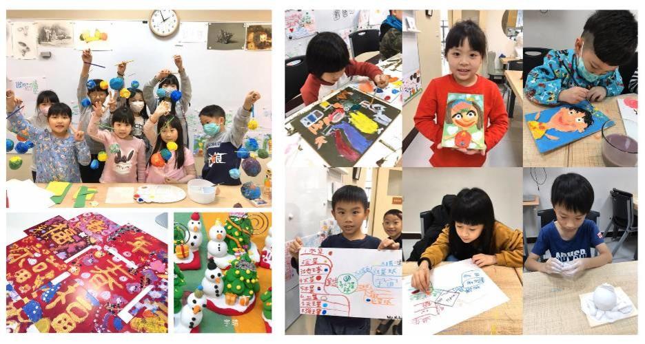 兒童創意彩繪課程・週六下午草莓班(尚有名額)