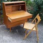 丹麥橡木寫字桌/化妝桌