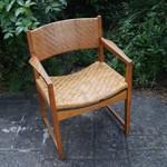 丹麥藤面扶手椅 by Hvidt&Molgaard