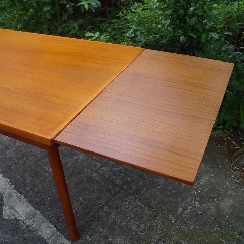 Henning kjaernulf 柚木延伸餐桌