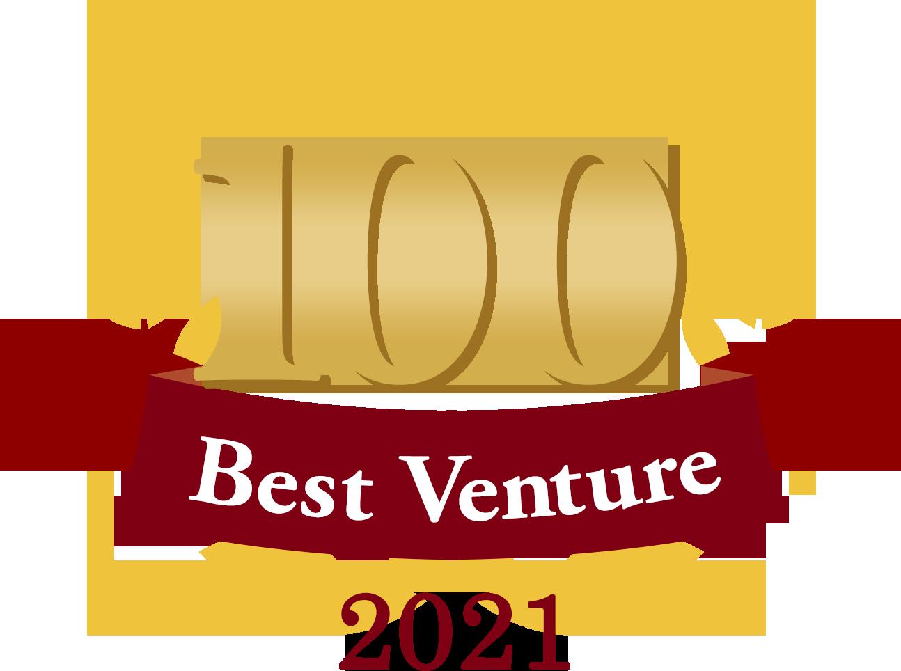 100 best venture in 2021
