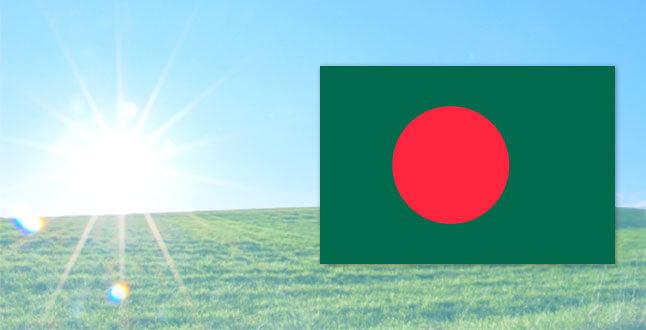 バングラディッシュの国旗