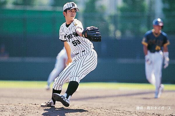 元阪神タイガースに投手の奥村先生