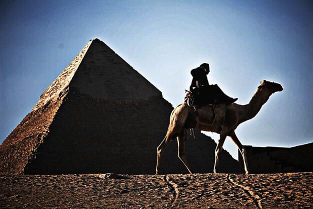 世界遺産・エジプト ギザのピラミッド