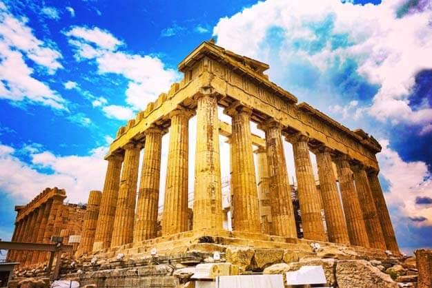 世界遺産・ギリシャ パルテノン神殿