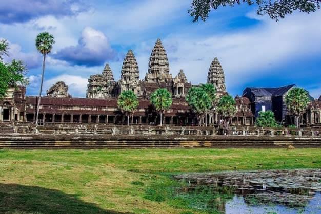 世界遺産・カンボジア アンコールワット