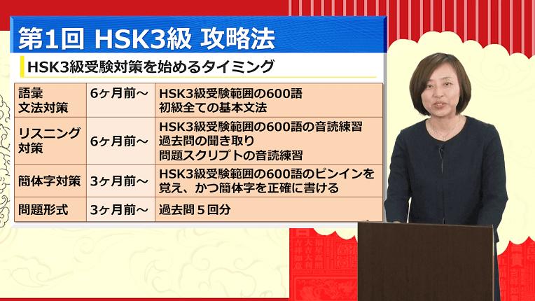 HSK3級を独学で勝ち取ろう!李老師(先生)の必勝勉強法
