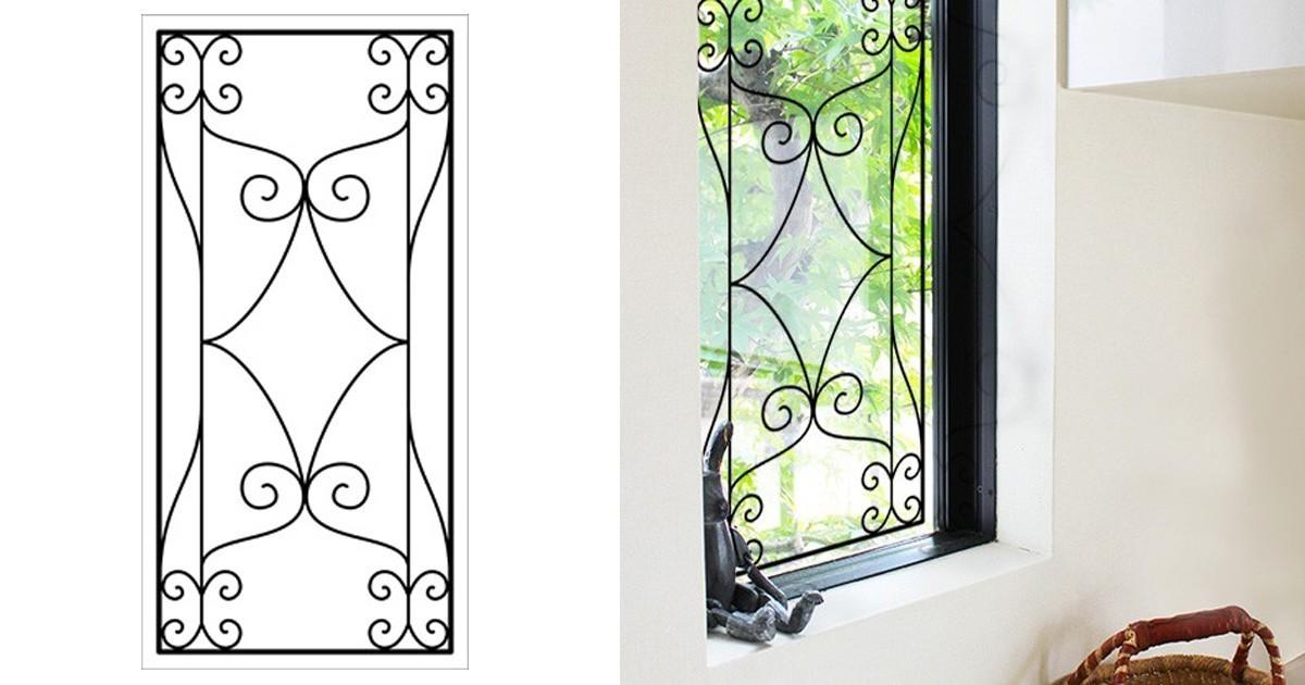 室内窓にステンドグラスの「ラインアート OG515」を設置した事例2選のお写真