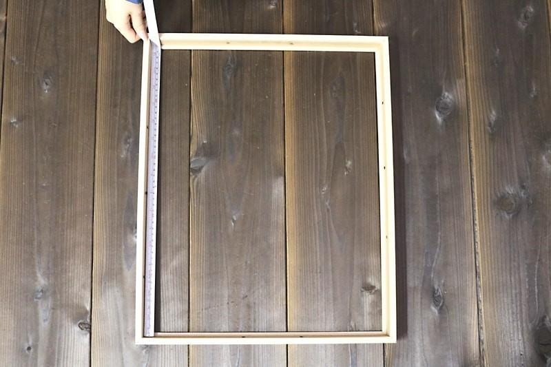 額縁ガラスの測り方-1