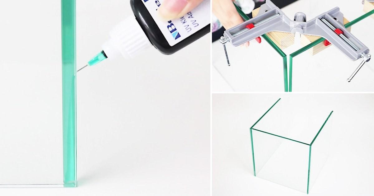 「ガラス用感光性接着剤 Bohle」を使用したガラスの接着方法