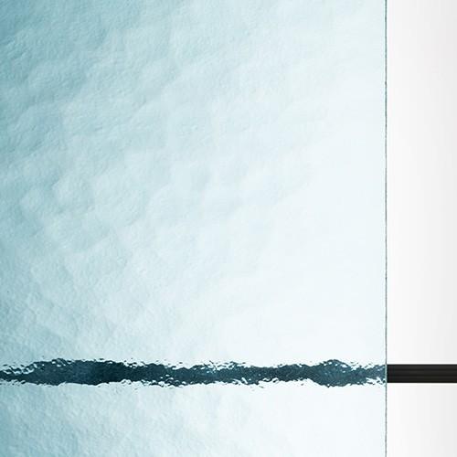 アンティークガラス キャセドラル MIN ライトブルー (SAG-017)のお写真