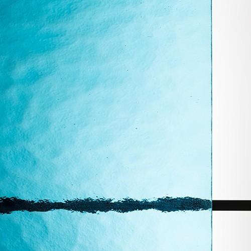アンティークガラス キャセドラル MIN ブルー (SAG-018)のお写真