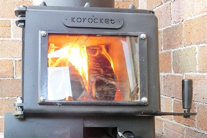 薪ストーブののぞき窓に耐熱ガラス「ファイアライト」を使用した事例-13