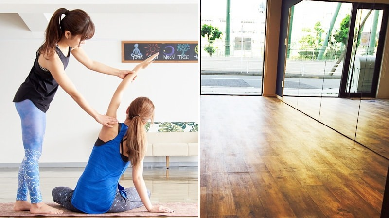 ヨガやバレエのレッスンに!カルチャーセンターに「パネルミラー」を設置した事例(神奈川県横浜市 Uカルチャーセンター様)