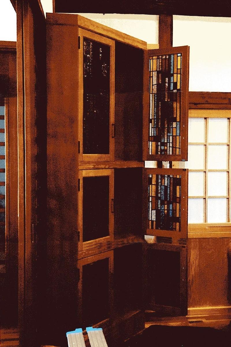 戸棚扉に使用した「フルオーダーステンド」-1