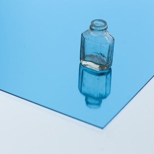 樹脂ミラー ライトブルーのお写真