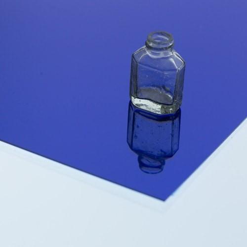 樹脂ミラー コバルトブルーのお写真