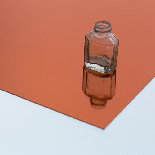 樹脂ミラー オレンジのお写真