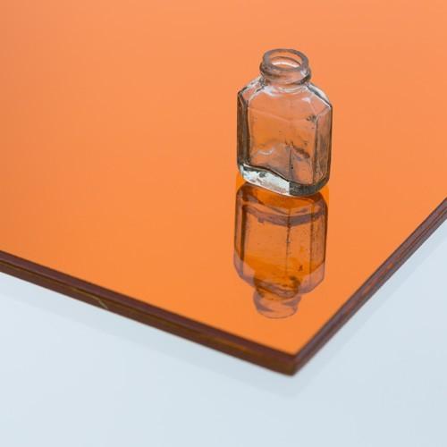 カラー合わせミラー オレンジのお写真