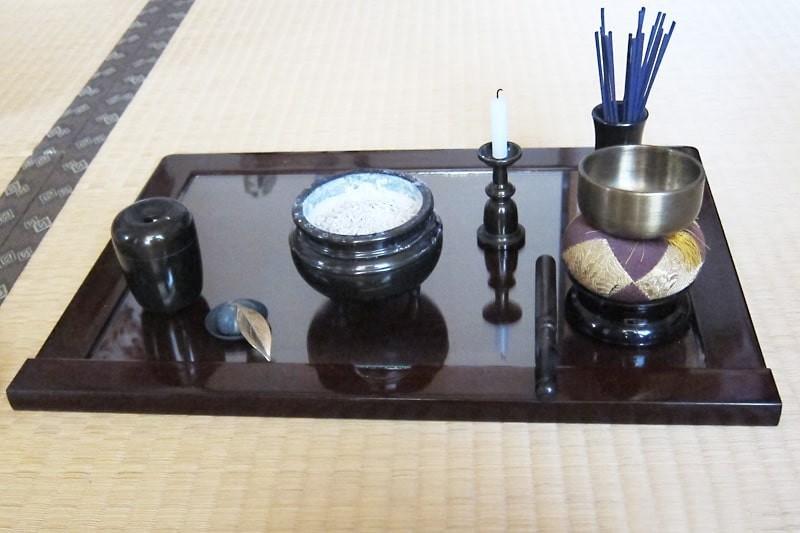 仏壇の保護ガラスに使用した「透明ガラス」-3