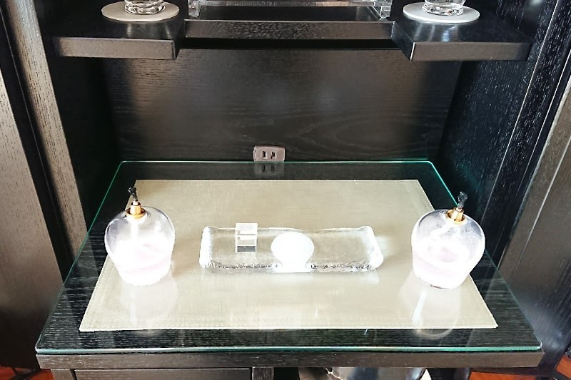 仏壇の保護ガラスに使用した「透明ガラス」-2