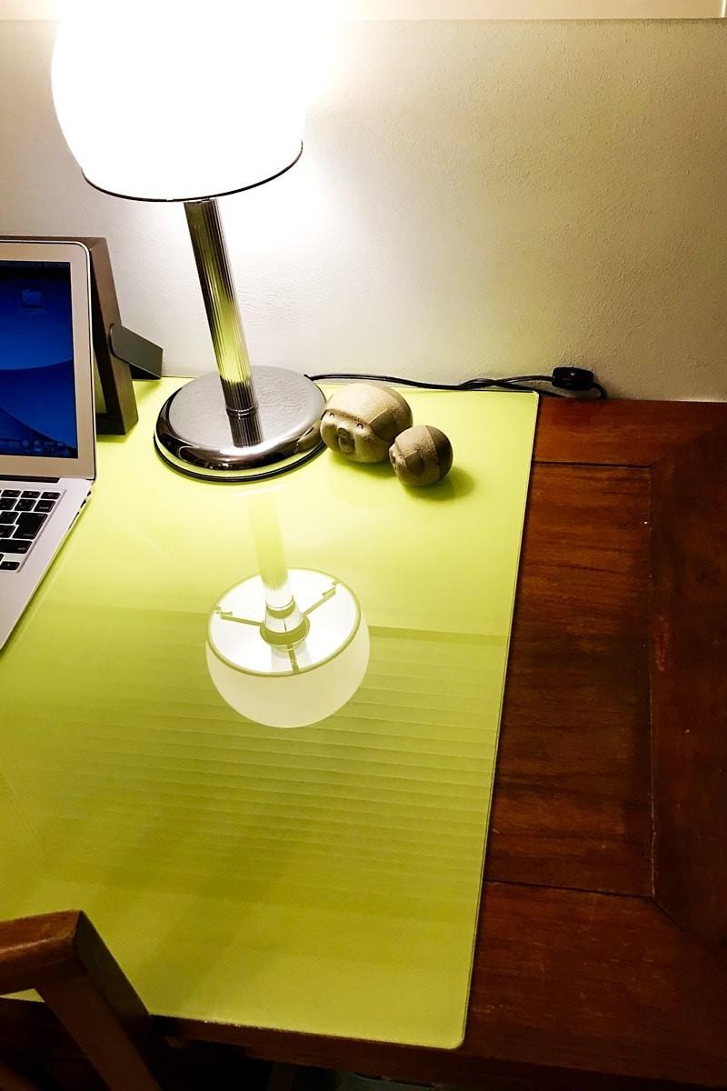 テーブルトップに使用した「セラミックプリントガラス」-5