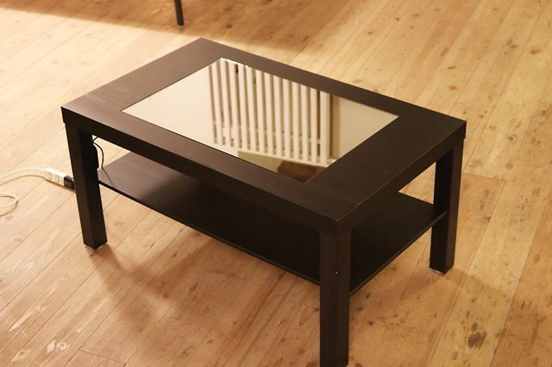 インフィニティミラーでテーブルを製作した事例(1)