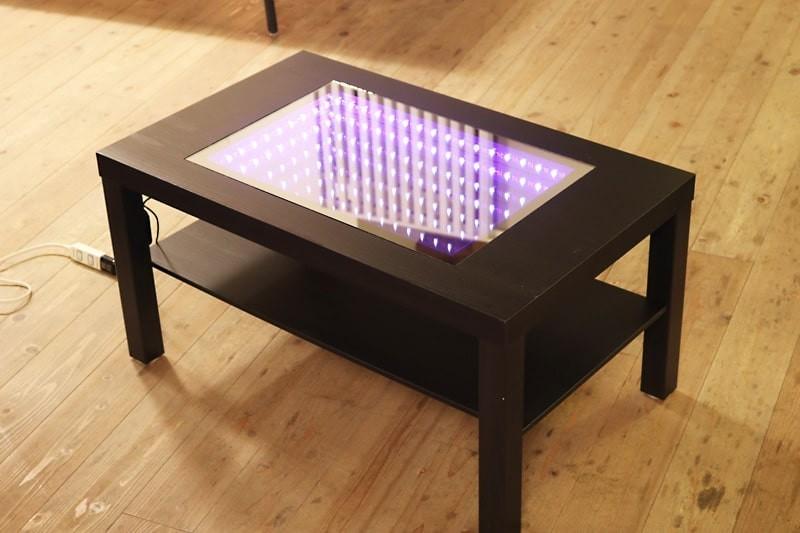 インフィニティミラーでテーブルを製作した事例(2)