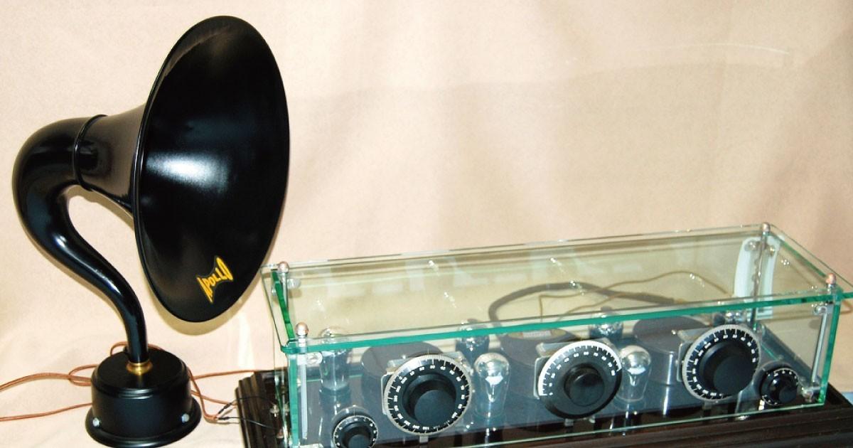 古典ラジオの修復に!「強化ガラス」を使用した事例(K様)のお写真