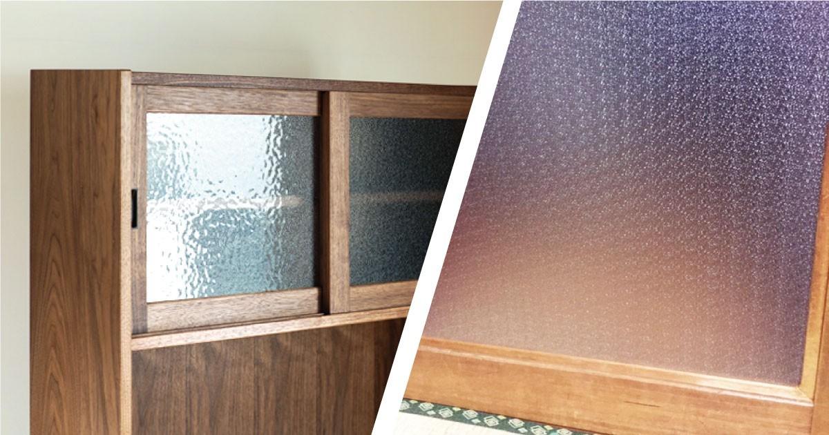 一般住宅に「型板ガラス」を使用した事例4選のお写真