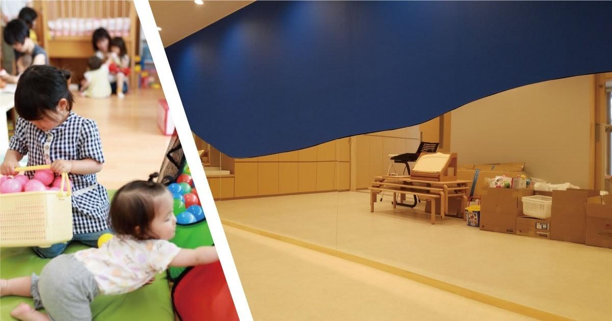 保育園の壁面装飾に「アルミミラー」を使用した事例(埼玉県S様)のお写真