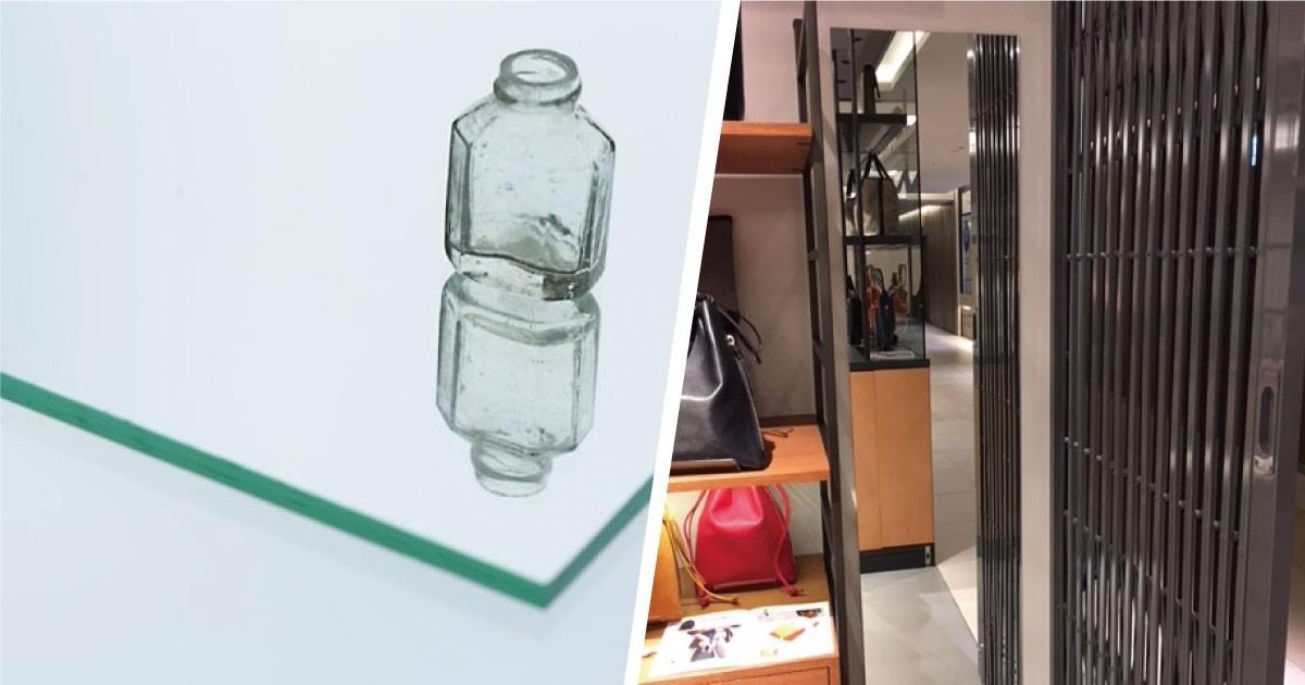 アパレルショップの姿見に「ガラスミラー」を使用した事例(東京都K様)のお写真