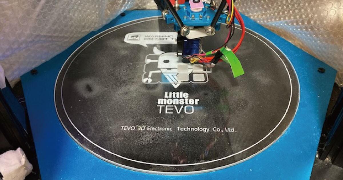 3Dプリンタにオススメ!ベッドガラスに「耐熱ガラス テンパックス」を使用した事例(千葉県O様)のお写真