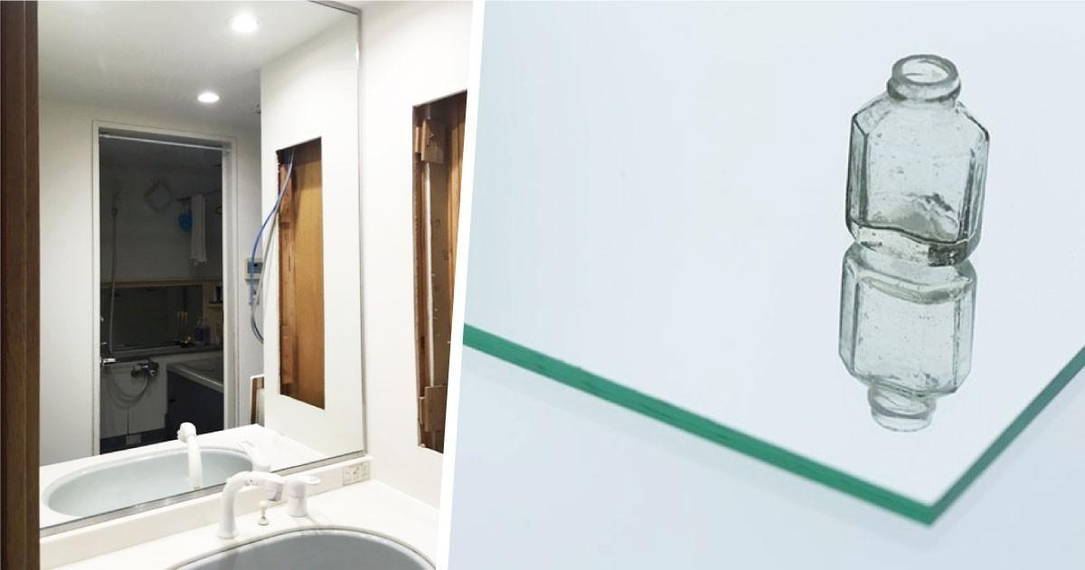 湿気による腐食防止!洗面所に「防湿ミラーST」を使用した事例(東京都K様)のお写真
