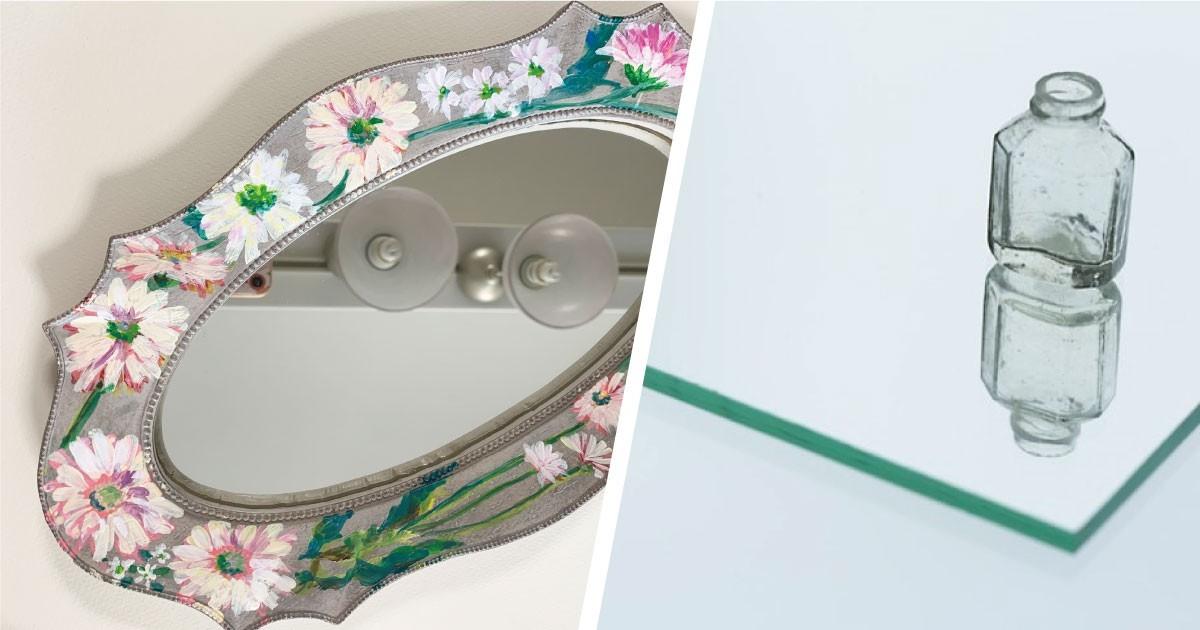 お気に入りの鏡が復活!装飾鏡の割れ替えに「ガラスミラー」を使用した事例(東京都O様)のお写真