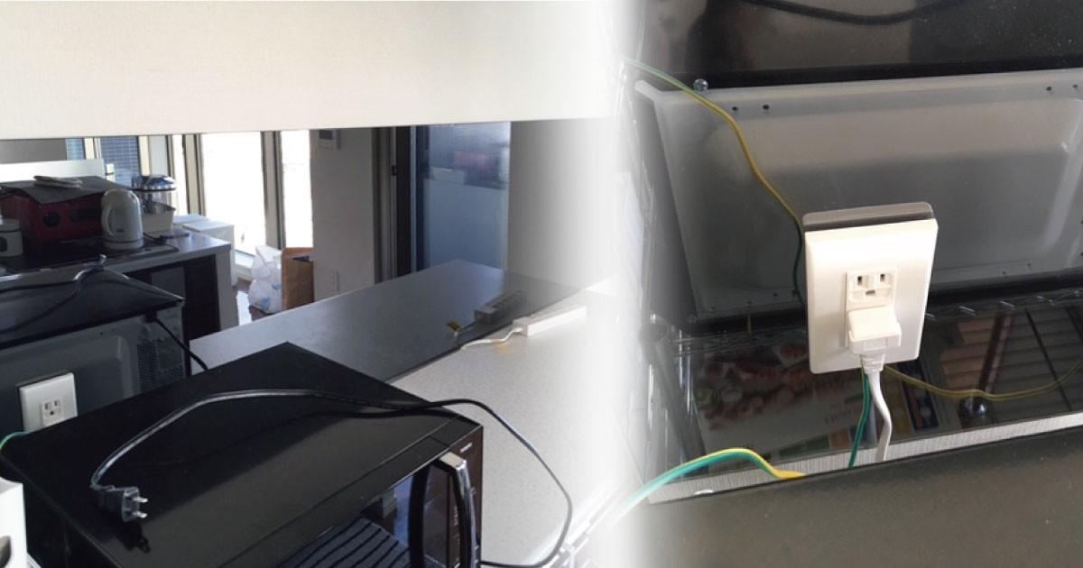 色ミラーでシンプルモダンに!キッチンの壁に「色ミラー グレー」を使用した事例(神奈川県O様)のお写真