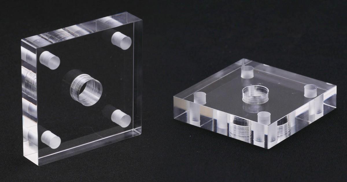 実験・試験用のガラスにオススメ!穴あけや研磨の特殊加工についてのお写真