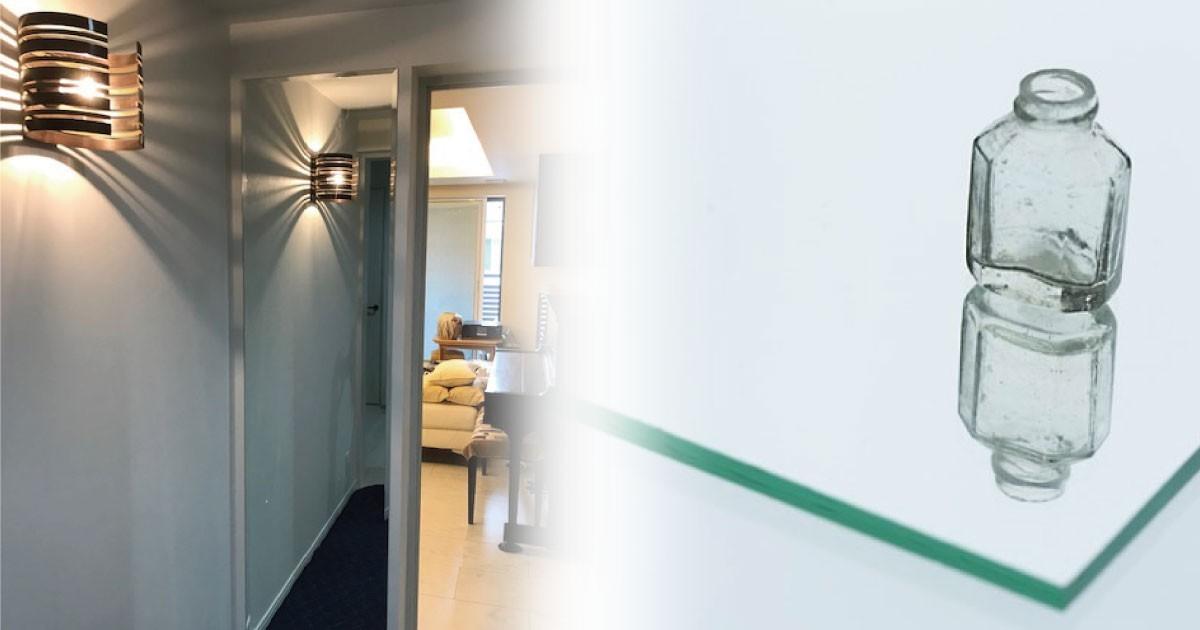 お客様事例 : 高級感のある空間に!姿見に「ガラスミラー」を使用した事例(東京都K様)