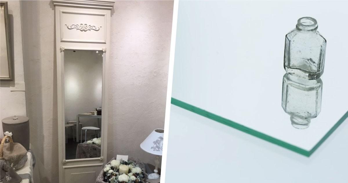 10周年記念の展示会に出展する作品に!オシャレな姿見に「ガラスミラー」を使用した事例(Filamy様)のお写真