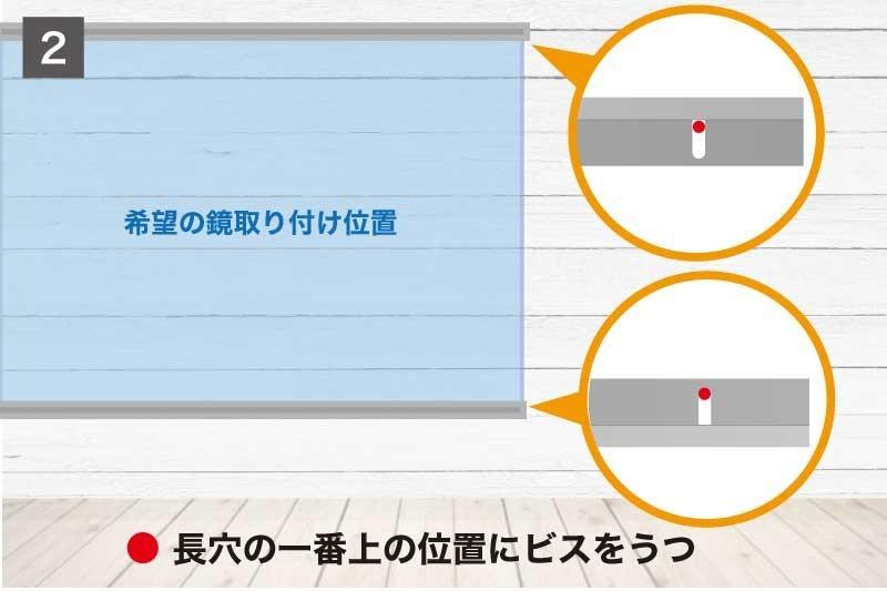 鏡の映像調整をしやすくする「片長チャンネル」を取り付ける-2
