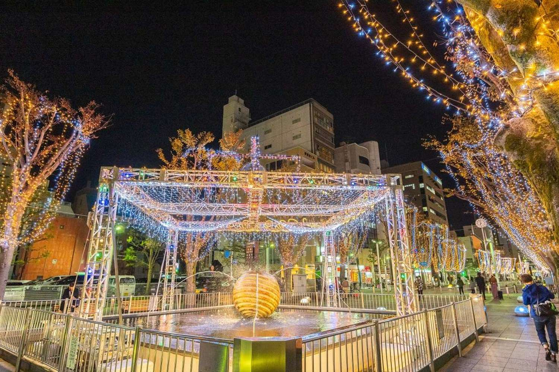 shizuoka中部联合中枢市区展望事业静冈、烧津、藤枝、岛田2019-20彩灯巡游
