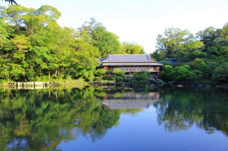 かわいい動物にも会える! 水と緑あふれる「楽寿園」